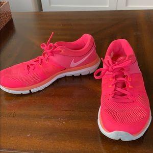 Nike hot pink sneakers